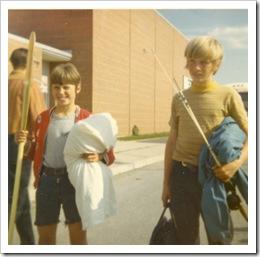 Dave & Steve,circa 1971