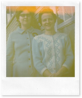 Nancy and Letha early visit 1969 or70-1