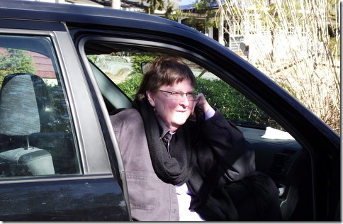 Nancy in car, cropped.2-6-11