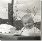 Steve's second birthday,1959